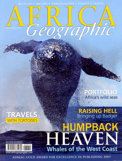 Africa Geographic: November 2007; Vol. 15, No. 10