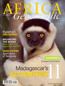 Africa Geographic: April 2008; Vol. 16, No. 3