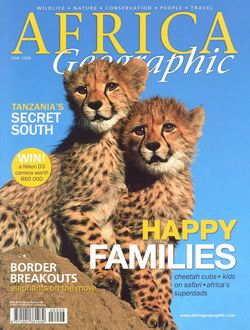 Africa Geographic: June 2008; Vol. 16, No. 5