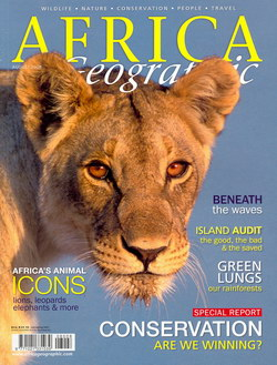 Africa Geographic: August 2008; Vol. 16, No. 7