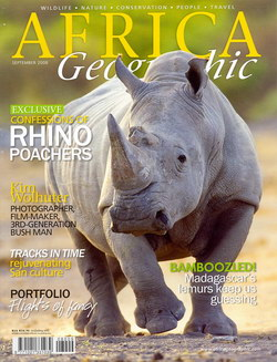 Africa Geographic: September 2008; Vol. 16, No. 8