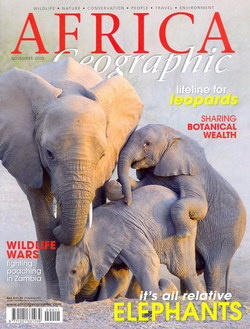 Africa Geographic: November 2009; Vol. 17, No. 10