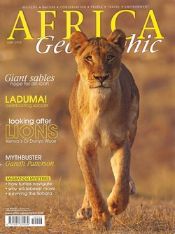 Africa Geographic: June 2010; Vol. 18, No. 5