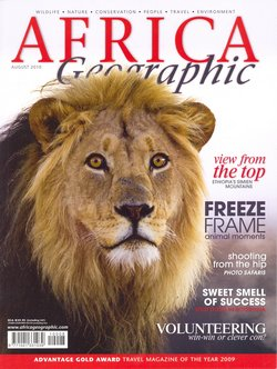 Africa Geographic: August 2010; Vol. 18, No. 7