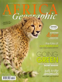 Africa Geographic: September 2010; Vol. 18, No. 8