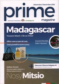 Prime Magazine: Présenté par Air Madagascar: Décembre / December 2016