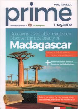 Prime Magazine: Présenté par Air Madagascar: Mars / March 2017