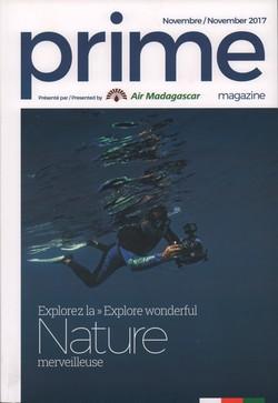 Prime Magazine: Présenté par Air Madagascar: Novembre / November 2017
