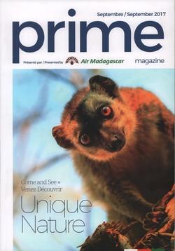 Prime Magazine: Présenté par Air Madagascar: Septembre / September 2017