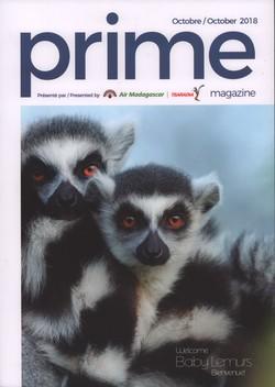 Prime Magazine: Présenté par Air Madagascar, Tsaradia: Octobre/October 2018