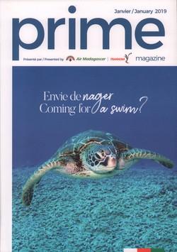 Prime Magazine: Présenté par Air Madagascar: Janvier/January 2019