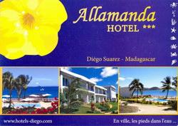 Allamanda Hotel: Diégo Suarez - Madagascar