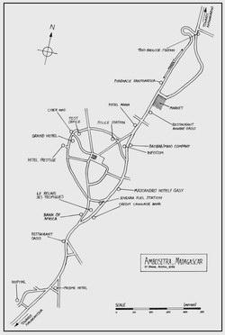Ambositra, Madagascar: Town Plan