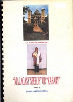 'Malagasy Speech' or 'Kabary'