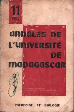 Annales de l'Université de Madagascar: Médecine et Biologie: No. 11