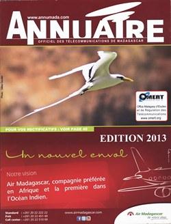 Annuaire Officiel des Télécommunications de Madagascar: Edition 2013