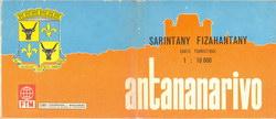Sarintany Fizahantany / Carte Touristique: Antananarivo