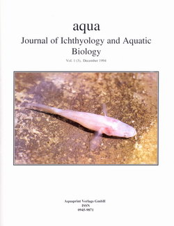Aqua: Journal of Ichthyology and Aquatic Biology: Vol. 1(3), December 1994