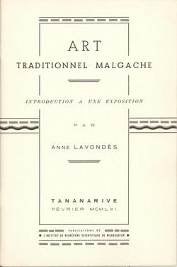 Art Traditionnel Malgache: Introduction ? une Exposition