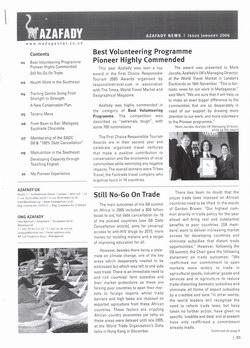 Azafady News: January 2006