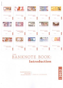 The Banknote Book: Introduction