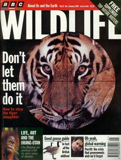 BBC Wildlife: January 1994, Volume 12, Number 1