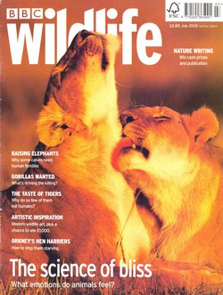 BBC Wildlife: July 2002, Volume 20, Number 7