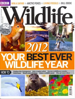 BBC Wildlife: January 2012, Volume 30, Number 1
