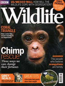 BBC Wildlife: May 2017, Volume 35, Number 6