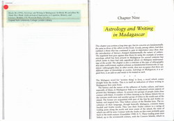 Astrology and Writing in Madagascar: Excerpt from 'How We Think They Think'