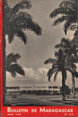 Bulletin de Madagascar: No. 219: Août 1964