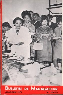 Bulletin de Madagascar: No. 290-291: Juillet-Août 1970