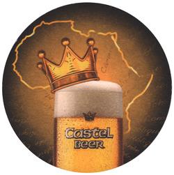 Castel Beer Mat: Circular