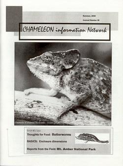Chameleon Information Network Journal: No. 36, Summer 2000
