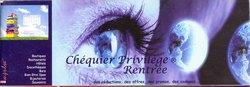 Chéquier Privilège: Rentrée: Septembre 2010