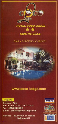 Hôtel Coco Lodge: Centre Ville
