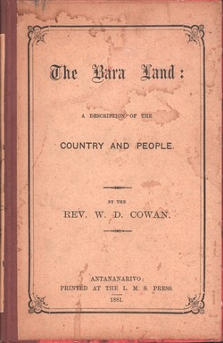 The Bara Land: A description of the country and people