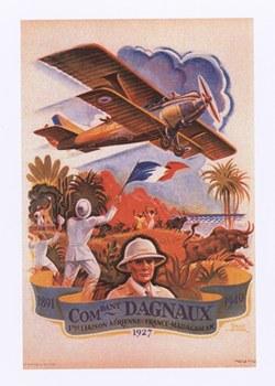 Commandant Dagnaux: 1891–1940: 1?re liaison a?rienne France-Madagascar: 1927