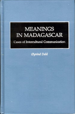 Meanings in Madagascar: Cases of Intercultural Communication