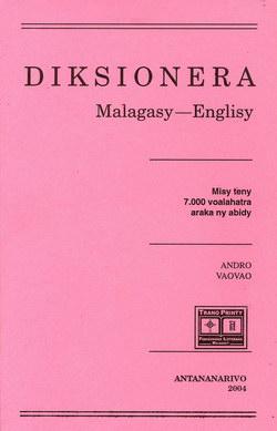 Diksionera Malagasy-Englisy: Misy teny voalahatra araka ny abidy