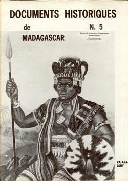 Documents Historiques de Madagascar: N. 5