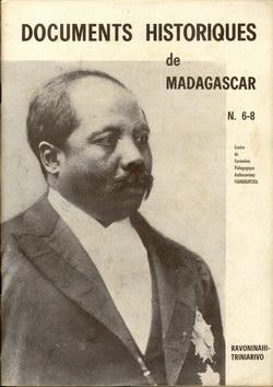 Documents Historiques de Madagascar: N. 6-8