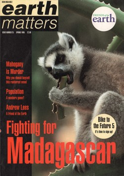 Earth Matters: Issue Number 25: Spring 1995