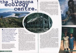 The Libanona Ecology Centre: Earth Matters