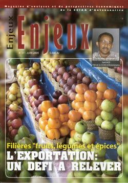 Enjeux: No. 01 - Juin 2005