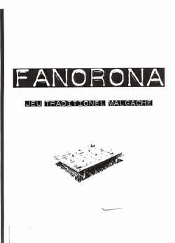 Fanorona: Jeu Traditionel Malgache