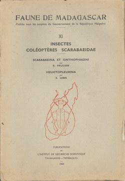 Faune de Madagascar: XI: Insectes: Coléoptères: Scarabaeidae: Scarabaeina et Onthophagini; Helictopleurina