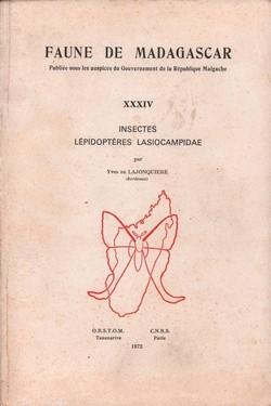 Faune de Madagascar: XXXIV: Insectes: Lépidoptères Lasiocampidae