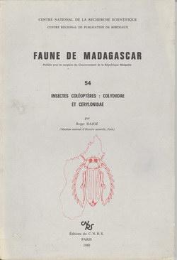 Faune de Madagascar: 54: Insectes Coléoptères, Colydiidae et Cerylonidae