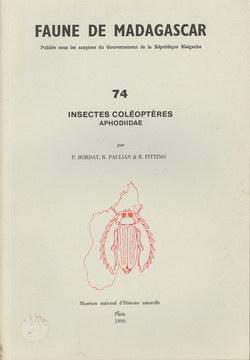 Faune de Madagascar: 74: Insectes Coléoptères, Aphodiidae
